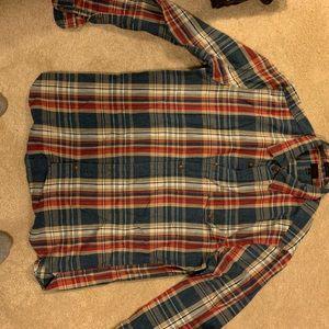 Jcrew patterned flannel button down